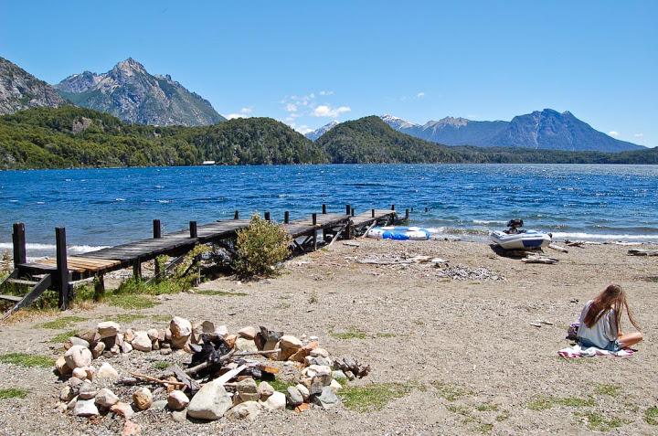Casa a orillas del lago moreno alquileres temporarios for Terrazas 5 bariloche